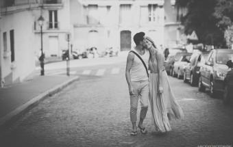 Marlena & Jonathan - sesja narzeczeńska w Paryżu
